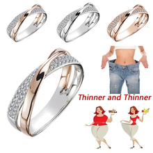 Magnetic Slimming Ring Weight Loss Health Care Fitness Jewelry Burning Weight Design Opening Therapy Lose Fashion X
