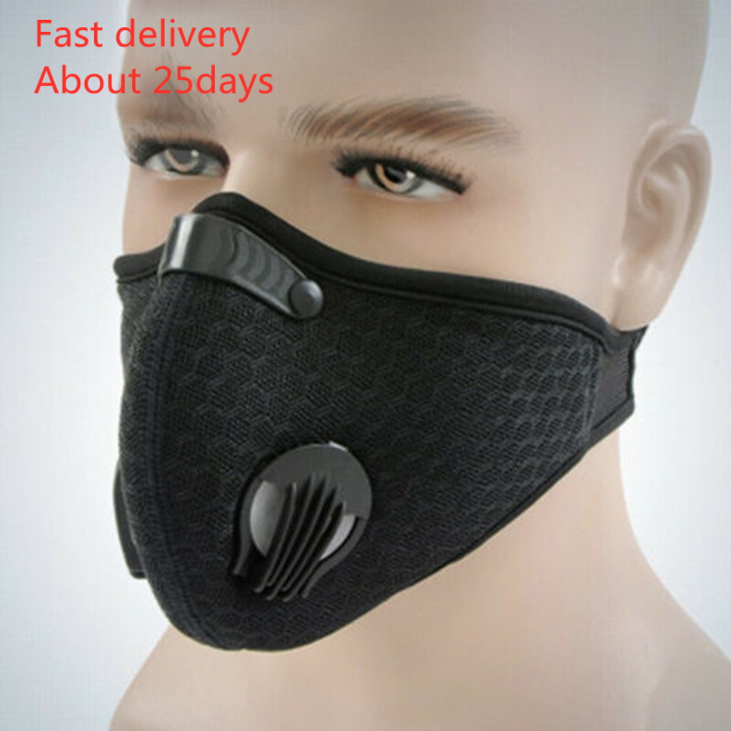 In Stock Mask Outdoor Anti-dust Half Face Mask Mouth-muffle Windproof For Bicycle Skiing Fast Delivery