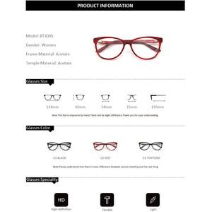 Image 5 - ZENOTTIC Retro Acetat Cat Eye Brille Rahmen Frauen Luxus Optische Myopie Spektakel Rahmen Klare linse Brillen