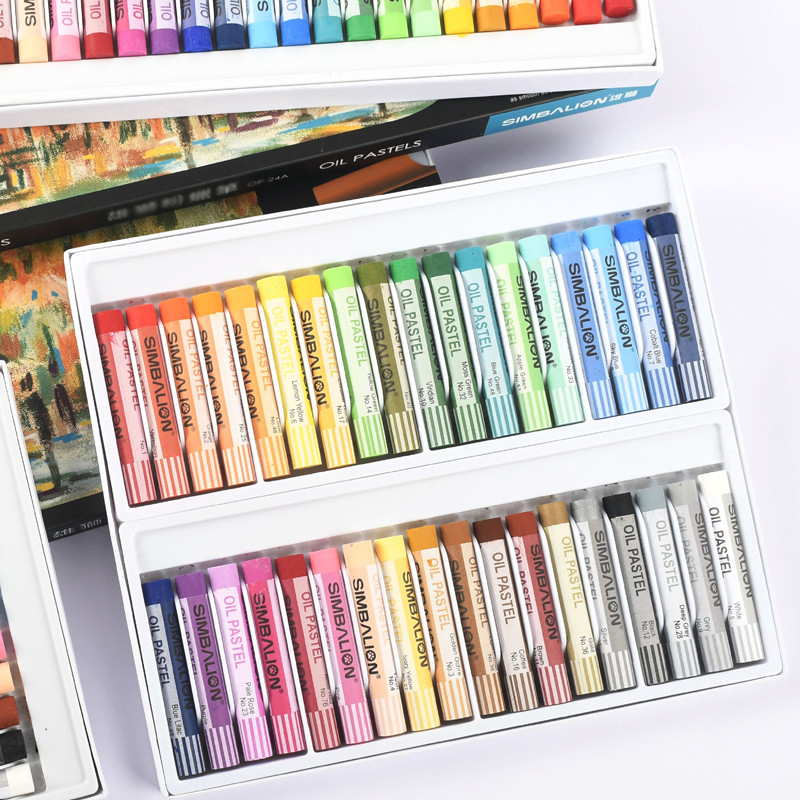 36 Colors Oil Pastel For Artist Soft Pastel Painting Drawing Pen Art Supplies Student Graffiti Soft Crayon Set School Stationery