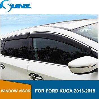 Боковые оконные дефлекторы для Ford KUGA 2013 2014 2015 2016 2017 2018 автомобильный дефлектор для защиты от ветра защита от солнца и дождя SUNZ