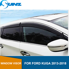 Window Visor for Ford KUGA 2013-2018 side Winodow Deflectors rain guards SUNZ