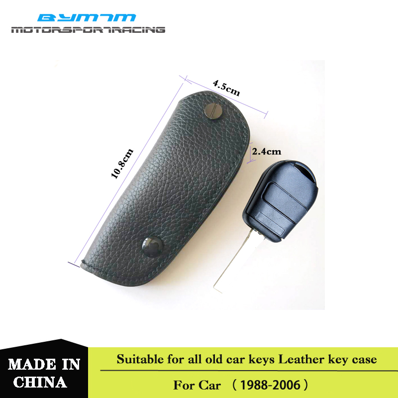 Top Layer Leather Key Case for Car Bag Fit For BMW E46 E39 E90 E60 E53 E36 E92 E65 E38 63 64