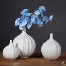 Керамическая ваза в европейском стиле украшения для домашнего
