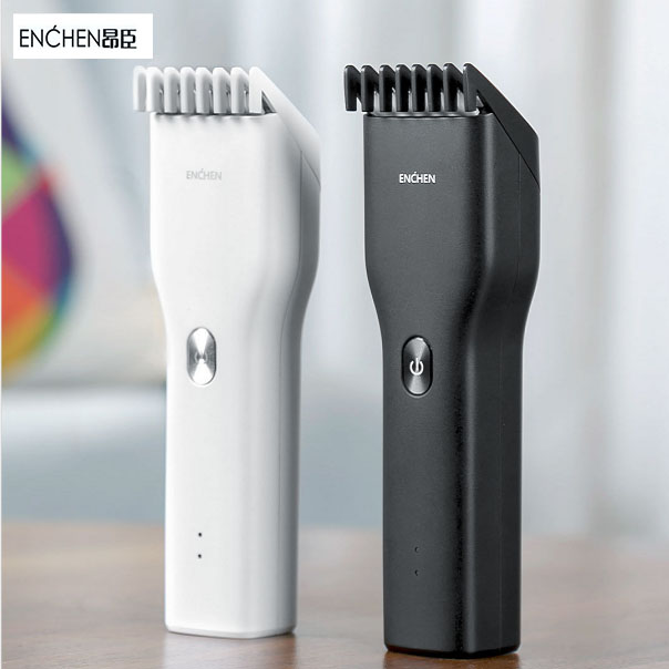 Enchen Men's Electric Hair Clipper Professional Trimmer USB Ceramic Hair Cutter Fast Charging Hair Adult Baby Clippers For Men