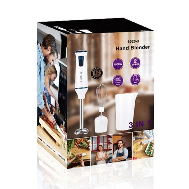 3 in 1 Electric Blender 220V Fruit Juicer Handheld Egg Beater Juice Mixer Whisk Home Kitchen Tool 37x5cm TB Sale 6