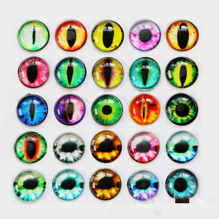 10 Cái Nhiều Màu Sắc 10/16/20MM Nhựa/Búp Bê Kính Mắt Đồ Trang Trí Mắt Cho Đồ Chơi Trẻ Em khủng Long Động Vật Mắt Phụ Kiện