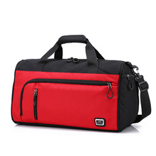 New Trendy Men's Sports Bag Women's Travel Bag Organizer Hand Luggage Large Capacity Traveling Bags for Ladies Weekend Gym Bags