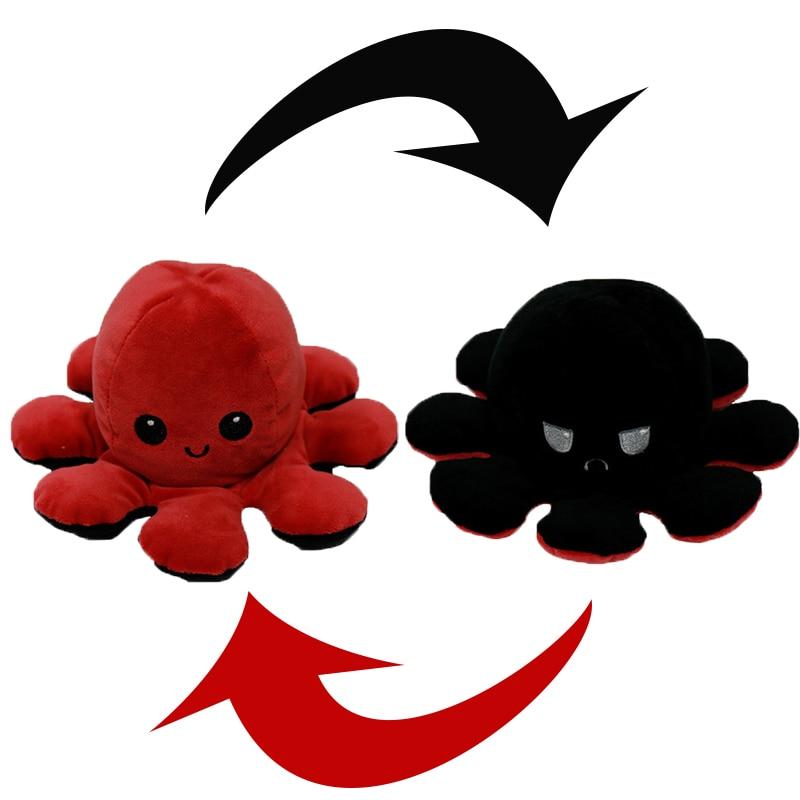 Reversible Octopus Stuffed Toy2