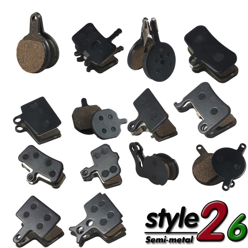 4 Pair (8pcs)  MTB Bicycle Bike Disc Brake Pads For SHIMANO SRAM AVID ZOOM 985 MAGURA HAYES MX3 MX4 MT5 MT8 FORMULA Accessories