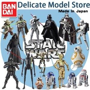Bandai Сборная модель Звездные войны Дарт Вейдер генерала гривоус белый солдат черный воин йода фигурка игрушки