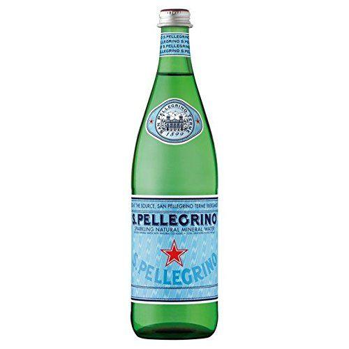 San Pellegrino Sparkling Mineral Water Glass Bottle 750ml