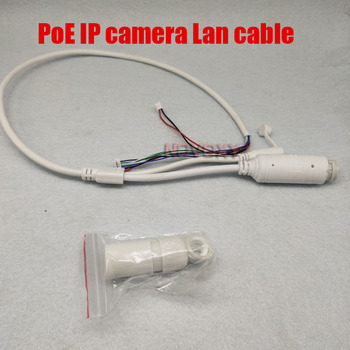48V to 12V PoE Cable With DC Audio For CCTV IP Camera Board Module - sale item Transmission & Cables