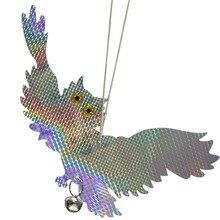 Garden Laser Reflective Fake Owl Supplies Hanging Scarecrow Scares Bird Pigeons Woodpecker Repellent Birds