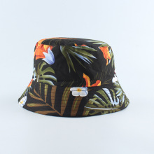 Bucket Hat Reversible Men Women Panama Cap Sun Summer Beach Spring Flowers Climbing Holiday Outdoor Accessory outdoor gesture finger pattern reversible bucket hat