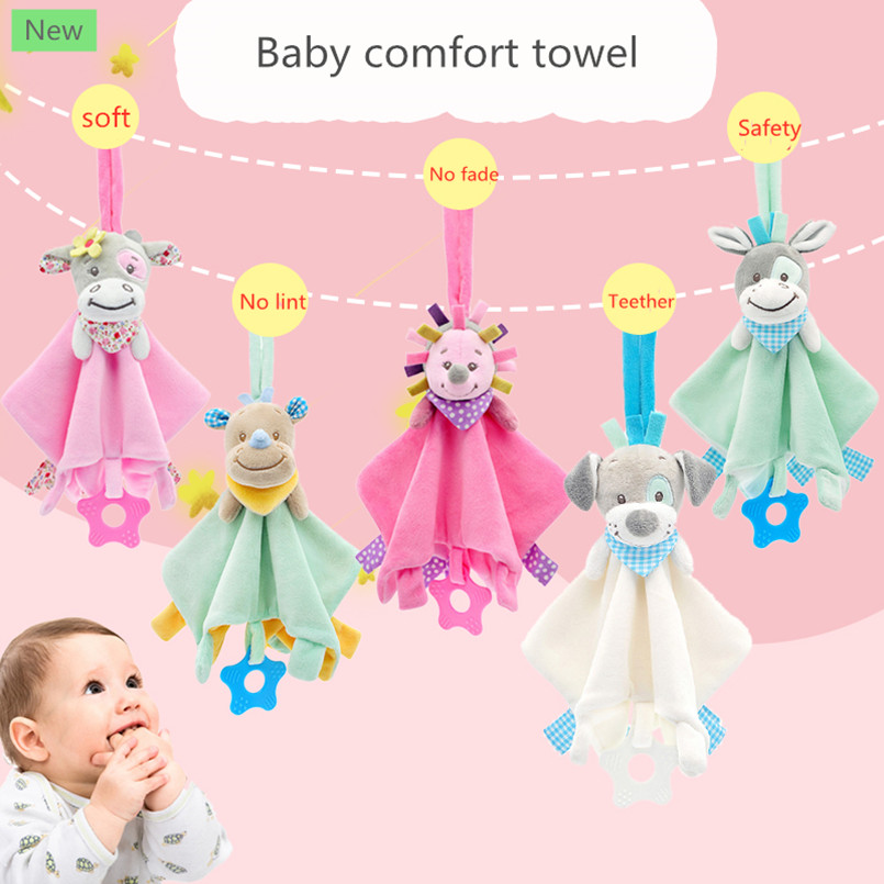 Soft Infant Crib Bed Stroller Toy Spiral Baby Toy For Newborns Car Seat Educational Rattle Baby Towel Education Toys  Baby Toy