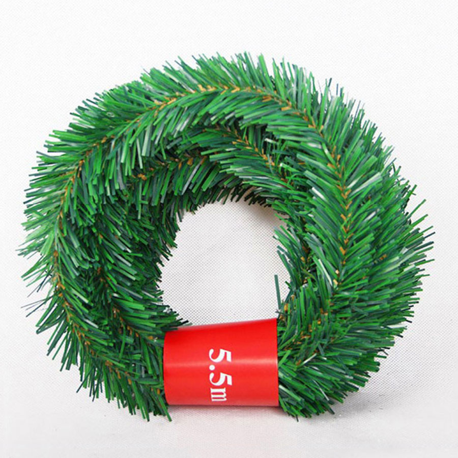 Image 3 - 5.5M Festive Party Rattan DIY Wreath Christmas Decoration Garland XMAS Party Drop Ornament 2020 Christmas Decorations For Home-in Pendant & Drop Ornaments from Home & Garden