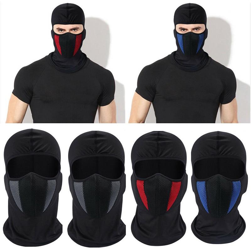 Outdoor Sports Cycling Cap Bike Cool Full Head Face Mask Neck Warmer Men Women Scarf Ski Bicycle Motocycle Head Cap Hat