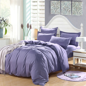 Image 5 - 1pc 100% cotton Duvet cover twin king queen size fabric solid color quilt cover Multi color and multi size optional