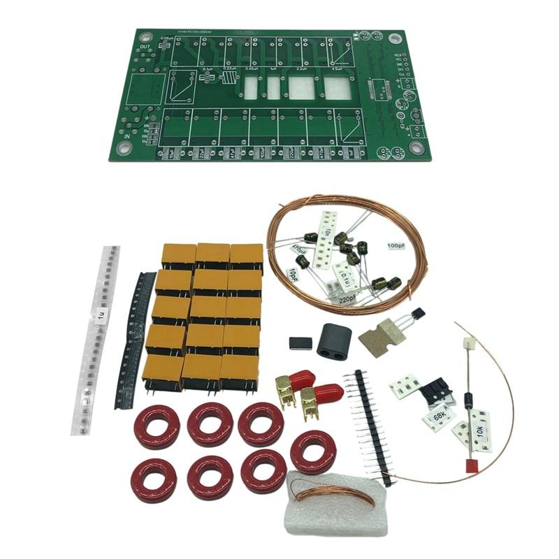 Latest Version DIY Kits 1.8-50MHz ATU-100Mini Automatic Antenna Tuner By N7DDC 7X7