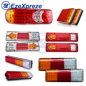 2Pcs CAR TRUCK Waterproof Brake Stop Turn Signal Indicator Tail Rear Lamps Trailer LIGHT 12V/24V Caravans UTE Campers