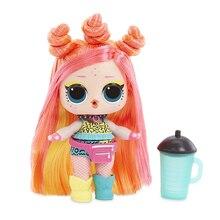 LOL SURPIRSE куклы 5-го поколения цели для волос Магия DIY случайные куклы Куклы Фигурки Модель Игрушки для девочек подарок