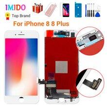 AAA Cao Cấp + + + Màn Hình LCD Cho iPhone 8 7 Plus Nguyên Bộ Số Hóa 3D Cảm Ứng Thay Thế Cho iPhone 7 7 P LCD Ống Kính Pantalla