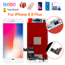 Grade AAA+++LCD Screen For iPhone 8 7 Plus Display Digitizer Assembly 3D Touch Replacement For iPhone 7 7P LCD Lens Pantalla