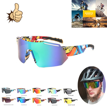 Okulary rowerowe okulary polaryzacyjne jazda na rowerze okulary przeciwsłoneczne okulary sportowe okulary soczewki Mtb ochronne kolorowe okulary tanie i dobre opinie CN (pochodzenie) Anti-reflective 1721 MULTI Z tworzywa sztucznego Unisex Z poliwęglanu Cycling UV400 Plastic + Metal Riding Cycling Sunglasses Mtb Polarized Sports Cycling Glasses