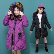 Girls Jacket 2019 Autumn Winter Jacket For Girls Coat Kids Warm Hooded Outerwear Children Clothes Infant Girls Coat TTX123