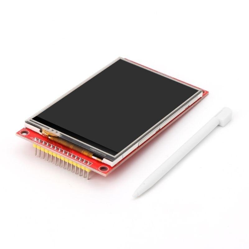 """3.5 """"pouces 480*320 MCU SPI série TFT LCD Module écran d'affichage avec panneau tactile intégré pilote ILI9486 livraison directe"""