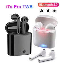 New i7s Tws Wireless Bluetooth Headset Mini Stereo Bass Earphones Earbud Sports Headphones for iPhone Xiaomi PK i12 i9s i14 i15