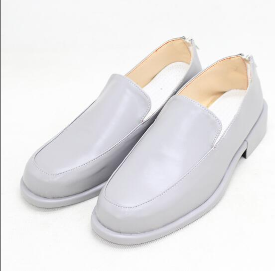 JoJo's Bizarre Adventure Bruno Bucciarati Cosplay Shoes Grey Boots Custom Made