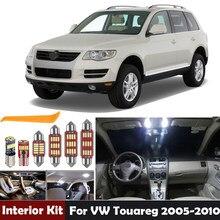 Bombillas Led para Interior de coche, Kit de iluminación para VW, Volkswagen, Touareg, 2005-2010, lámpara de cortesía, domo, maletero, 16 Uds.