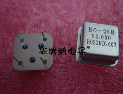 5pcs 100% New And Orginal Zhongzheng Square Active In-line Crystal OSC DIP-4 12MHZ 24MHZ 54MHZ 11.0592MHZ