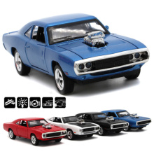1:32 Scale Fast And Furious Model Cars To Scale 1970 Dodge Charger Model Car Alloy Toy Cars Diecast Toys For Boy Kids Gift цена