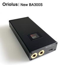 Oriolus جديد BA300S 4.4 مللي متر متوازن أنبوب مضخم ضوت سماعات الأذن الصفراء أنبوب أمبير TYPE C