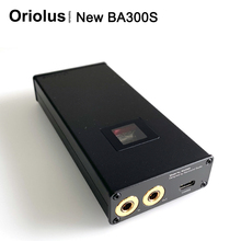 Oriolus NEW BA300S 4.4mm balanced Tube Headphone Amplifier Bile Tube Amp TYPE C
