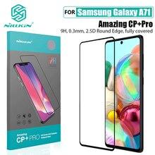 サムスンギャラクシー For Samsung Galaxy A71 ガラス Nillkin アメージング CP + プロ H/H + プロスクリーンアンチ爆発強化 For Samsung Note 10 Lite フィルム