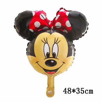 Giant Mickey Minnie Mouse Balloons Disney cartoon Foil Balloon Baby Shower Birthday Party Decorations Kids Classic Toys Gifts 13