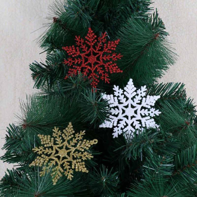 Christmas Hanging Silver Snowflake Tree Decoration