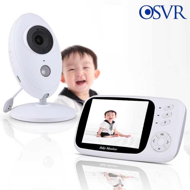 مراقبة الطفل مع واي فاي 3.5 بوصة LCD الصوت فيديو الطفل الهاتف 24h المحمولة كاميرا لمراقبة الأطفال 2 طريقة الصوت الحديث للرؤية الليلية التحكم عن بعد