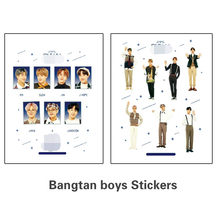 2pcs/set Kpop bangtan byos sticker FESTA vocal concert photo sticker high quality HD clear picture new arrivals(China)