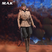 Full Set 1/6 Scale Female Military Solider offical North African officer figure Model AL100026 with Head Body fans toys цена