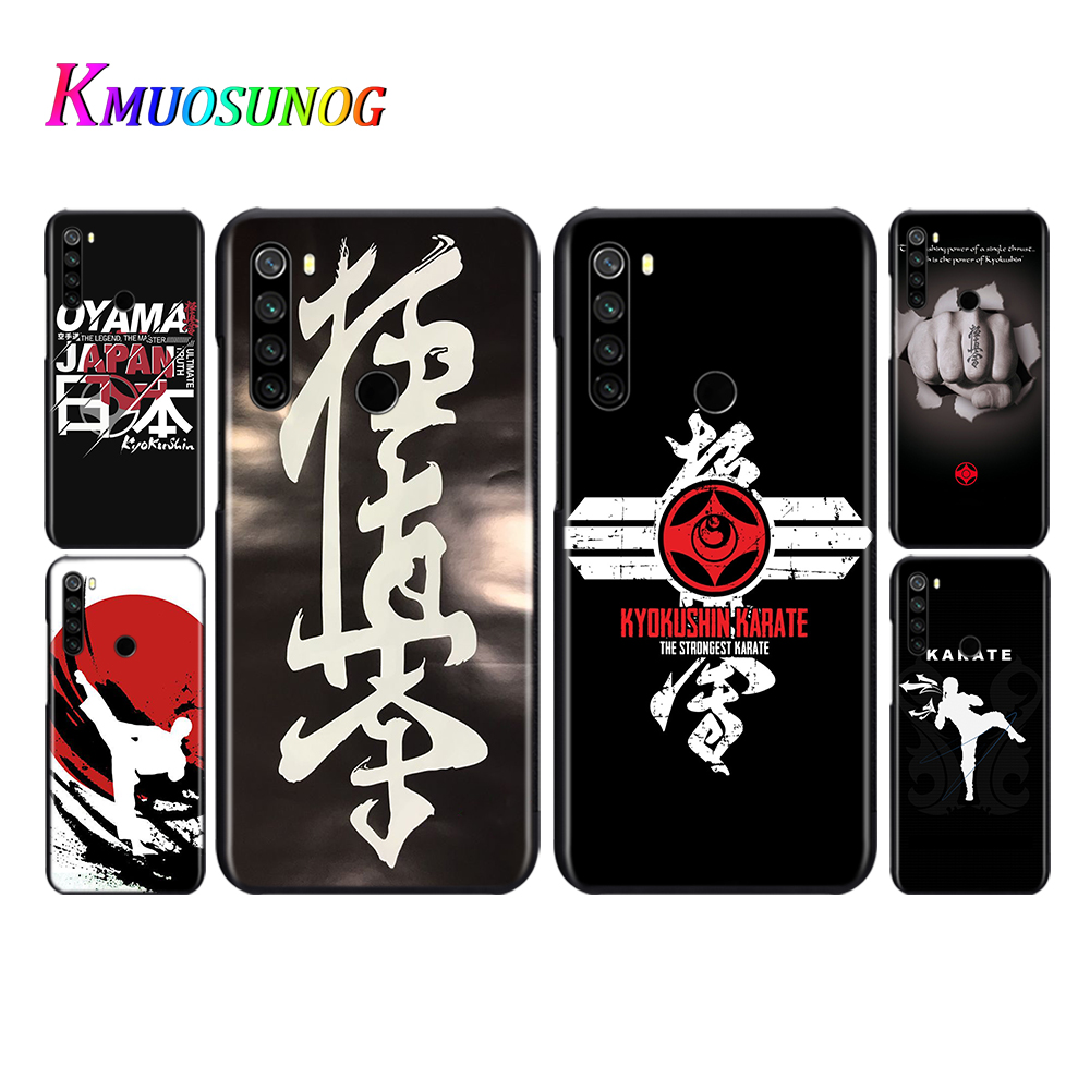 Oyama Kyokushin Karate Phone Case For <font><b>Xiaomi</b></font> <font><b>Redmi</b></font> Note 9 9S Max 8T 8 <font><b>7</b></font> 6 5 Pro 5A 4X 4 Soft <font><b>Back</b></font> <font><b>Cover</b></font> image
