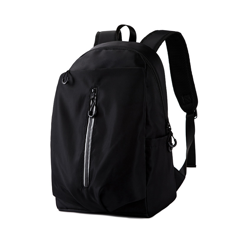 Oxford Cloth Backpack Unisex Students Simple Computer Backpacks Stylish Casual Waterproof Outdoor with USB Charging