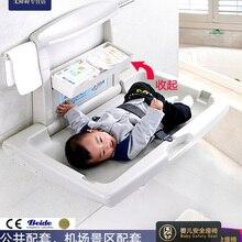 Третий столик для ухода за младенцем в ванной комнате, раскладной столик для мамы и младенца, настенный столик для купания