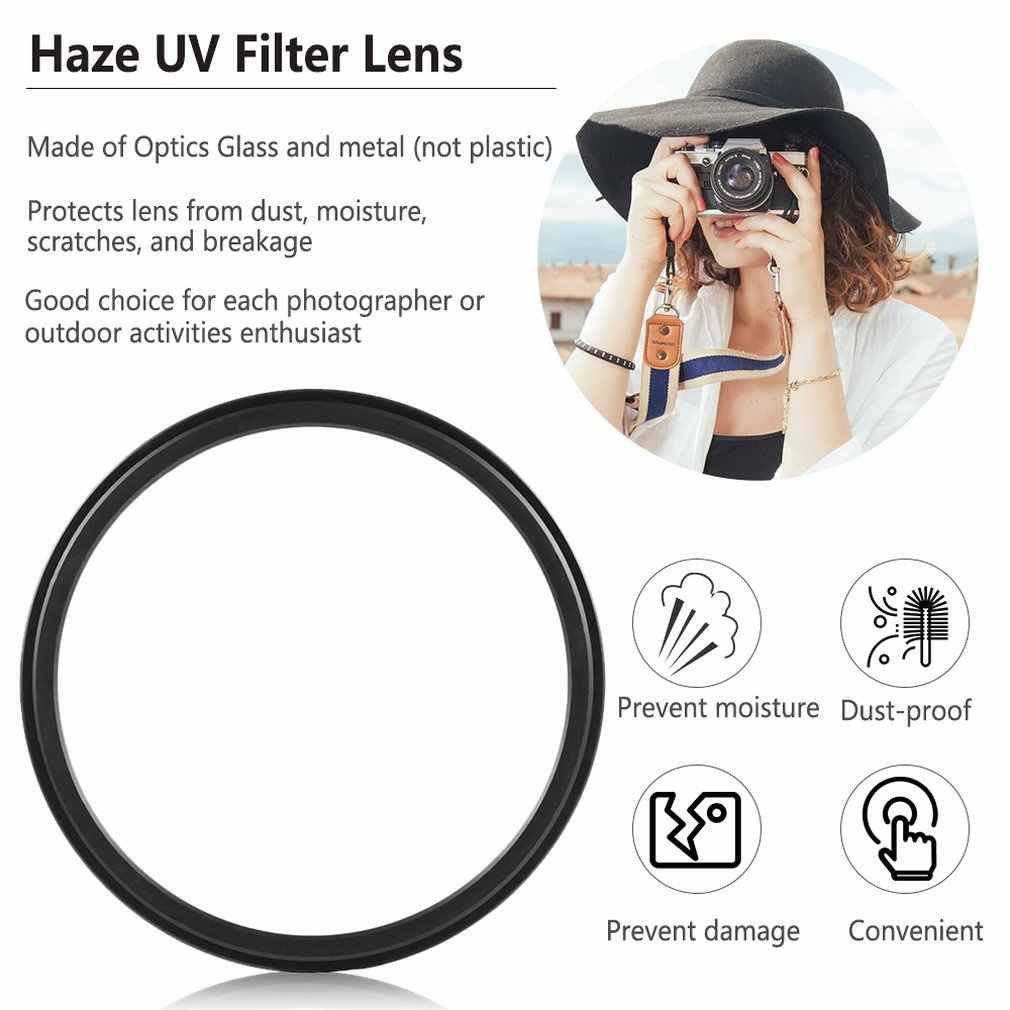 1pc 52mm Haze UV מסנן עדשת 52mm עדשת מגן עבור DSLR/SLR/DC/DV מצלמה עדשת אבק הוכחה לחות הוכחה שריטה הוכחה
