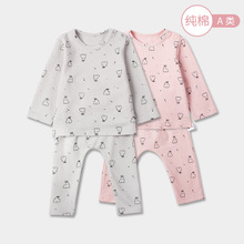 Wear Pajamas-Set Baby Kids Boy Cotton Children's Casual Home for Girl New Air-Conditioned