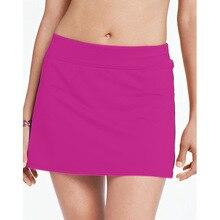 XS-3XL Beach Skirt Conservative Bikini Large Plus Size Beach